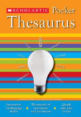 Scholastic Pocket Thesaurus By Bollard, John